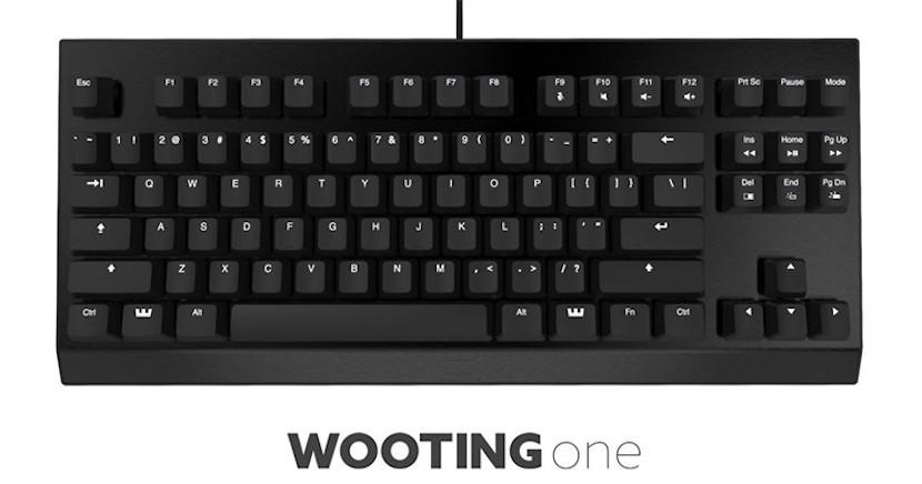 wooting one 800x420 830x436 Wooting One, el primer teclado analógico del mercado