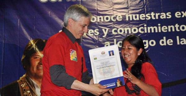 Cristina Choque lleva largos años de relación con el Movimiento Al Socialismo