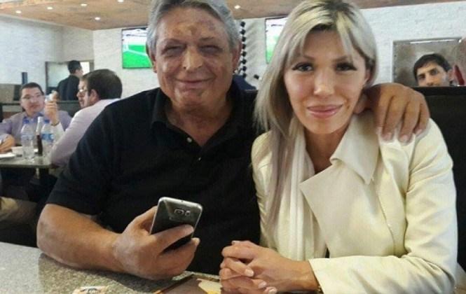 Jaime Paz admite que se fotografío con Gabriela Zapata en un restaurant de La Paz