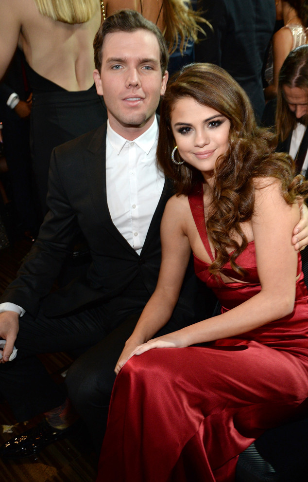 Selena Gomez, Austin Swift, 2016 Grammy Awards, Candids