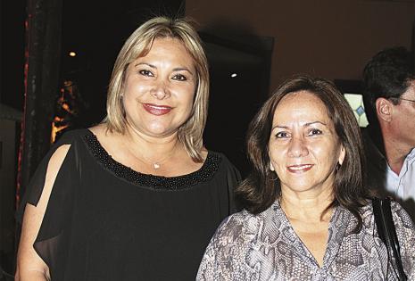 Kathia Quiroga y Gina Méndez