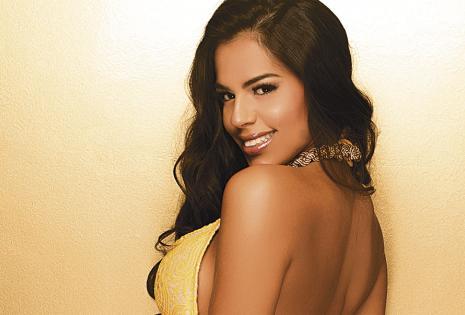 Claudia Camacho. La Srta. Santa Cruz entregará la corona en abril