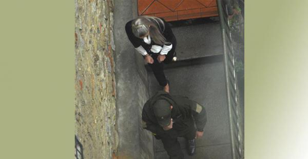 En la cárcel de Obrajes Gabriela Zapata guarda detención por los delitos de los que la acusa el Estado Según el Gobierno, la expareja de Evo Morales se hacía pasar por funcionaria pública