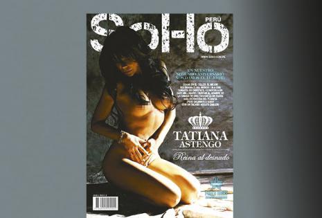 ELLA  POSA COMO TODA UNA DIOSA  'La Reina  al desnudo'  A fines del año 2013 hizo unas fotos de infarto para el aniversario de la revista SOHO, de Perú, en las que sus curvas fueron las protagonistas, derrochando toda su  sensualidad.