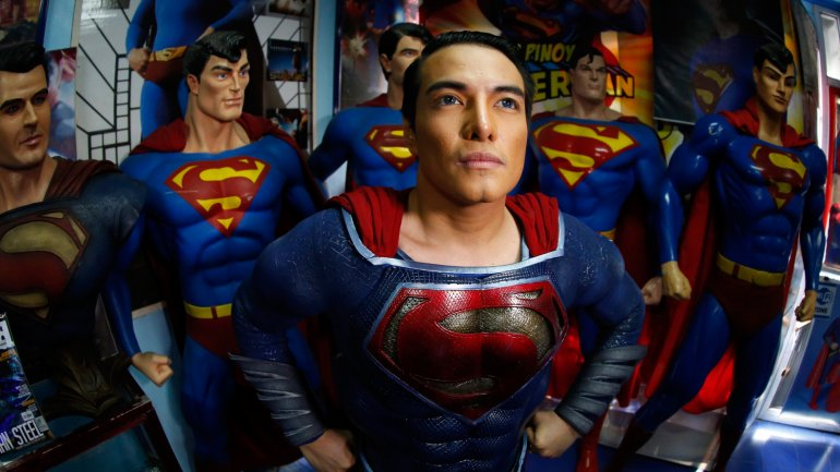 Herbert Chavez se autodenomina el mayor fan del mundo de Superman