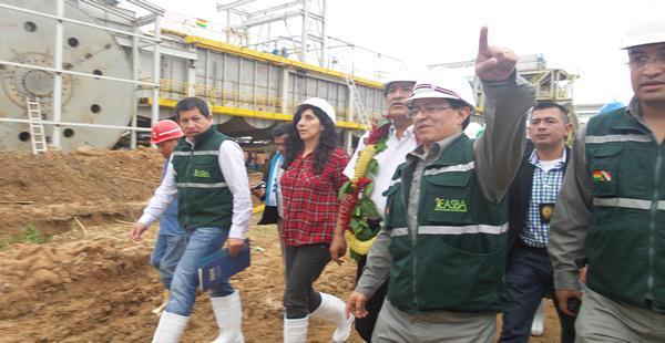 El Ingenio San Buenaventura se encuentra en La Paz. fue construido bajo la modalidad 'Llave en mano'