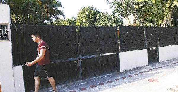 Army Security retiró su letrero de la calle San Pablo 2315