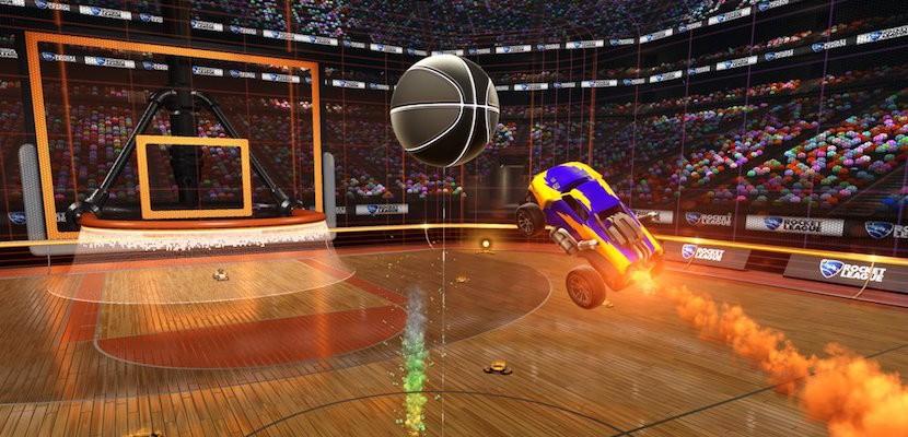 Rocket League deja el fútbol y se pasa al baloncesto