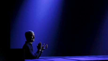 El jefe de Apple Tim Cook