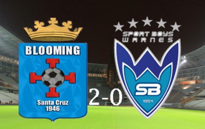 Blooming se reencuentra con la victoria y vence por 2-0 a Sport Boys