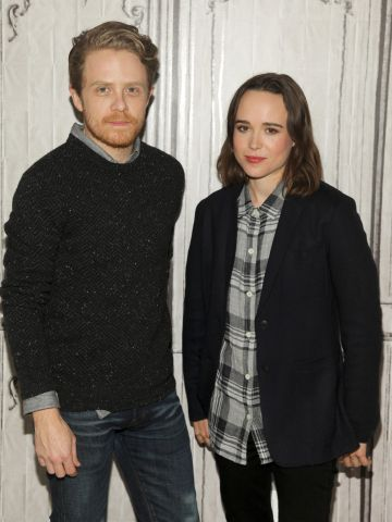 El documentalista Ian Daniel y la actriz Ellen Page, artífices de la serie documental 'Gaycation'.