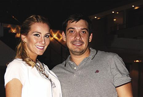 Juntos. Carla Butteler y Nicolai Coimbra