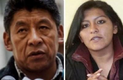 """Pedro Montes llama a Chapetón """"esa carajito"""" y la responsabiliza por las muertes en El Alto"""