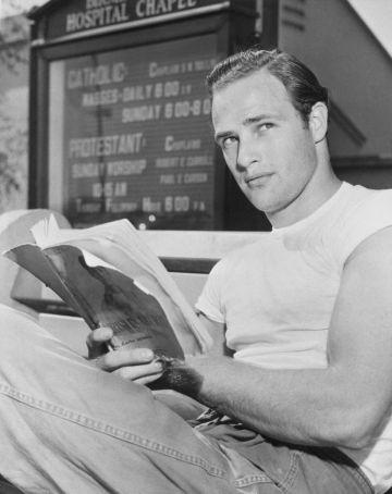 En la imagen, Brandon posa en 1949.