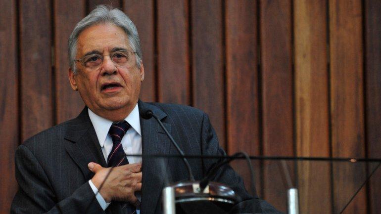 El ex presidente brasileño Fernando HenriqueCardoso