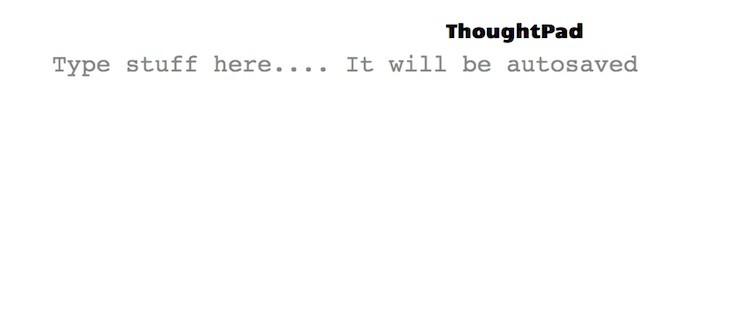ThoughtPad