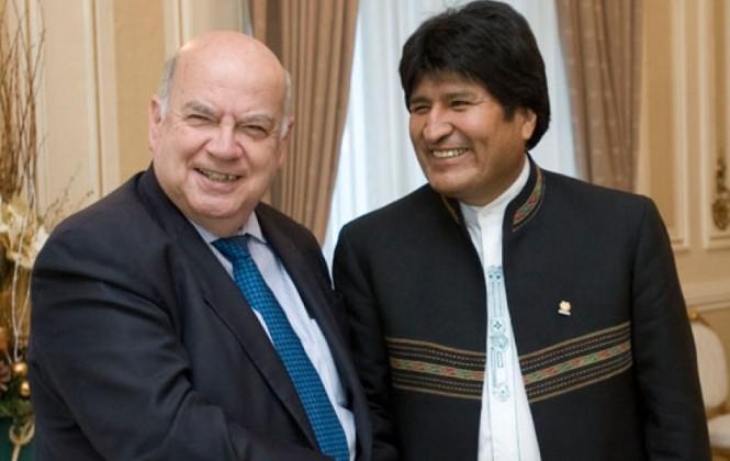 Morales llama a Insulza a resolver diferendo marítimo con diálogo y acompañamiento de la comunidad internacional.