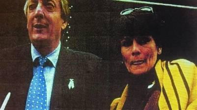 Otros tiempos. Quiroga cuando era secretaria de Kirchner.