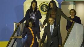 La llegada de Obama a la Argentina