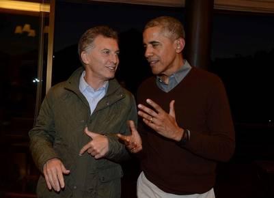 Despedida Macri-Obama en Bariloche