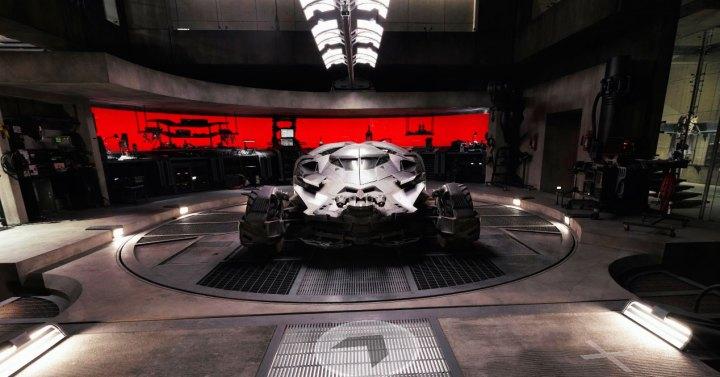 Batman v Superman la residencia Wayne