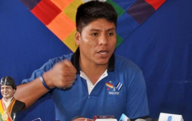 """Leonardo Loza: """"No descartamos la nueva candidatura de nuestro hermano Presidente (Evo)"""""""