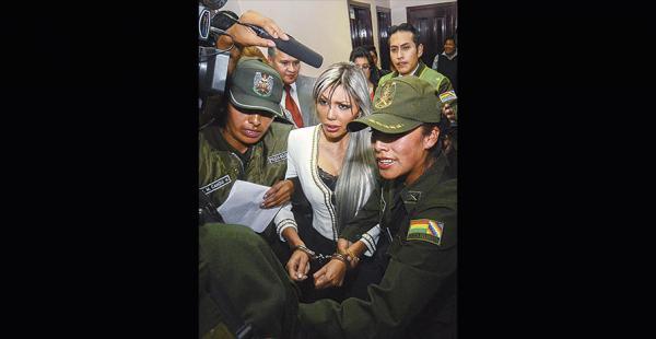Gabriela Zapata, expareja del presidente Evo Morales, reveló supuestos vínculos con Quintana