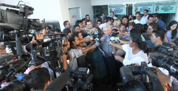 El gobernador Rubén Costas confirmó que la audiencia será el 20 de abril
