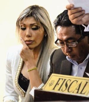 Inspeccionan celda de Gabriela Zapata en Miraflores después que envió carta a Quintana