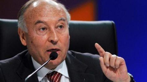 El presidente del Banco de Desarrollo para América Latina-CAF, Enrique García