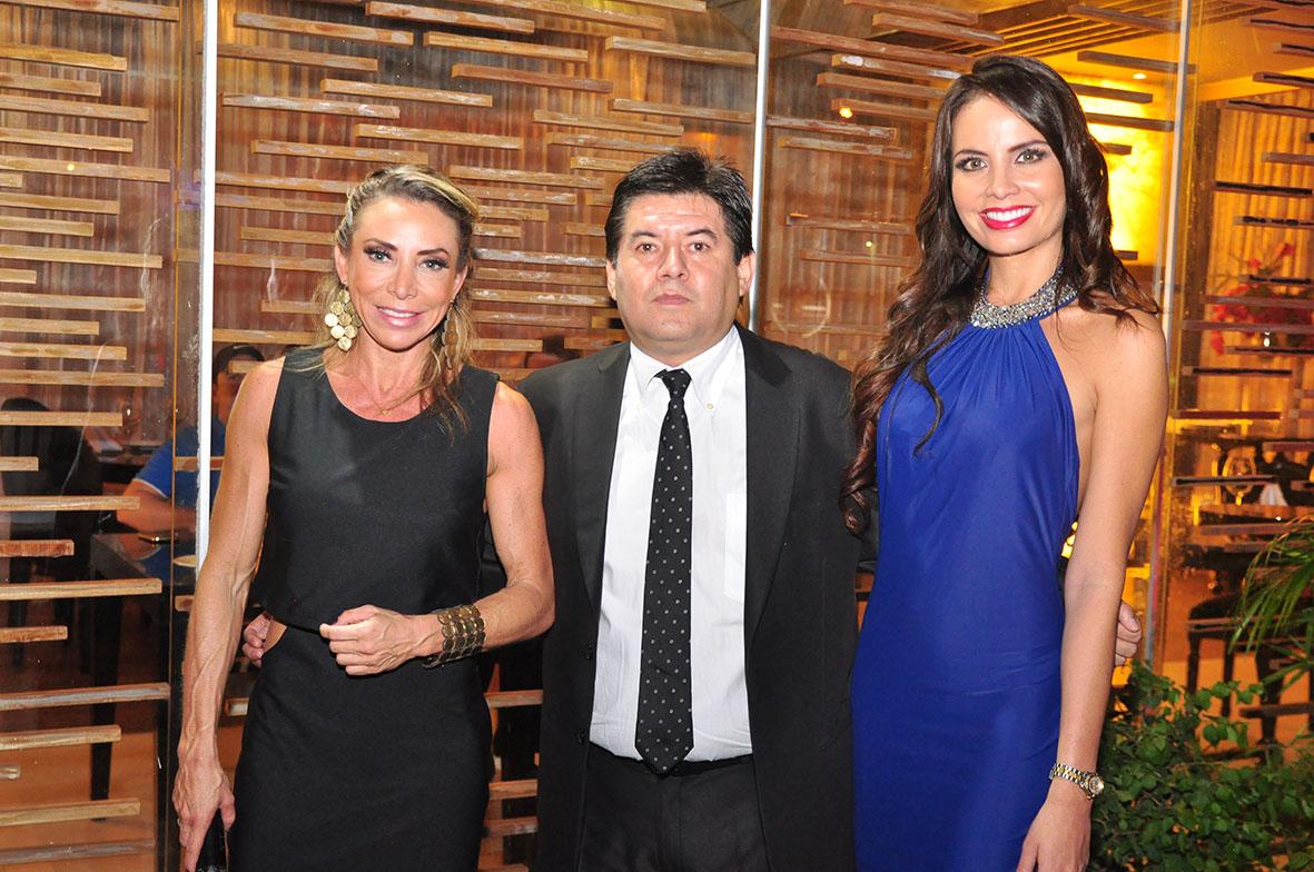 Laura Donoso, Reny Severiche y Ximena Vargas