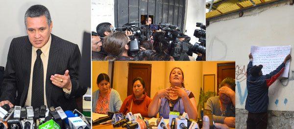 INCIDENCIA DE LO OCURRIDO AYER EN INMEDIACIONES DEL CENTRO DE ORIENTACIÓN FEMENINA DE MIRAFLORES DONDE SE ENCUENTRA RECLUIDA GABRIELA ZAPATA.