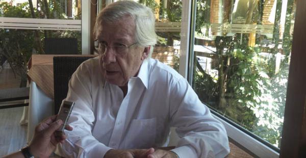 Danilo Astori, ministro de Economía de Uruguay, en una entrevista exclusiva para EL DEBER