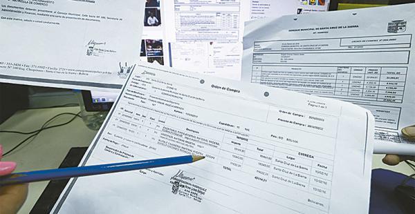 Los documentos fueron compartidos a través de las redes sociales