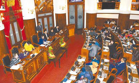 Diputados. Se inició la sesión preparatoria de la nueva legislatura.