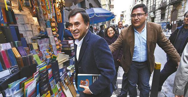 Juan Ramón Quintana dijo ayer que no existen indicios de tráfico de influencias en el Gobierno