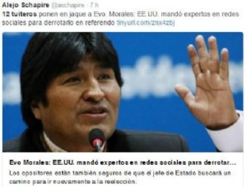 Morales y los 12 expertos del #21F desatan polémicas reacciones