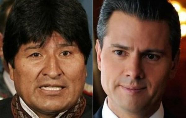 Alistan un encuentro entre Evo Morales y Enrique Peña Nieto