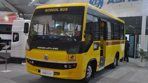 Uno de los vehículos de la empresa Ashok Leyland, expuesto en su página Facebook