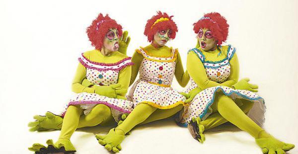 HOY. Las hermanas Boreque, en Mi príncipe azul es verde (17:30)