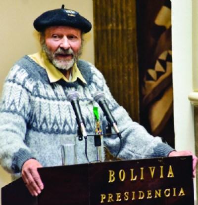 Mesa: Nuevo defensor debiera tener la estatura moral de Xavier Albó