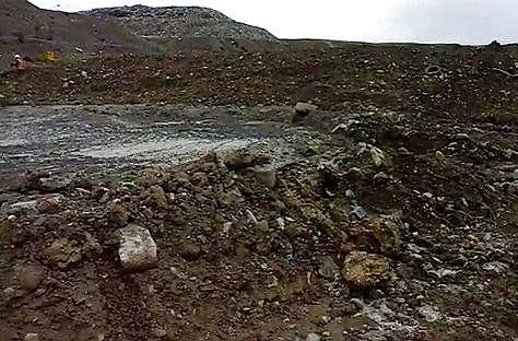 Lixiviados contaminaron el río Seke