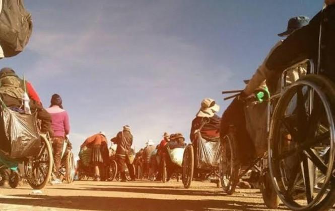 Gobierno sospecha de móviles políticos en la caravana de personas con discapacidad