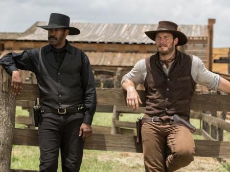 Los Siete Magnificos Imagen Del Remake Denzel Washington Y Chris Pratt