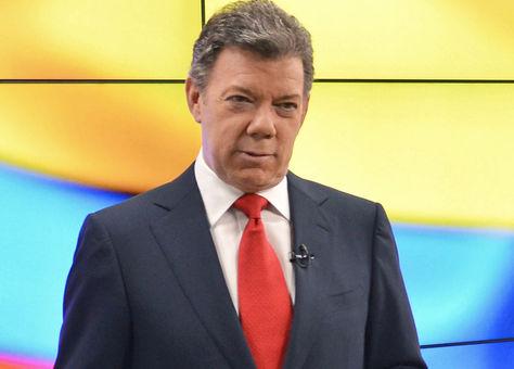 El presidente de Colombia, Juan Manuel Santos. Foto. Internet