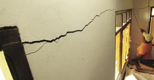 En noviembre pasado un sismo de 5 grados en la escala de Richter dejó daños materiales en Portachuelo
