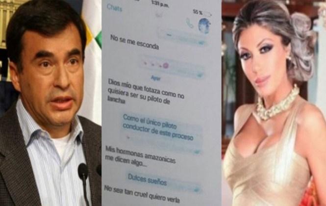 Ministro Quintana aduce que perdió su teléfono celular personal