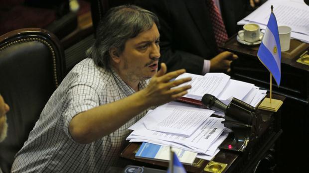 El diputado Máximo Kirchner