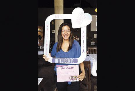 Vanessa Áñez, de Poker, se unió a la cruzada