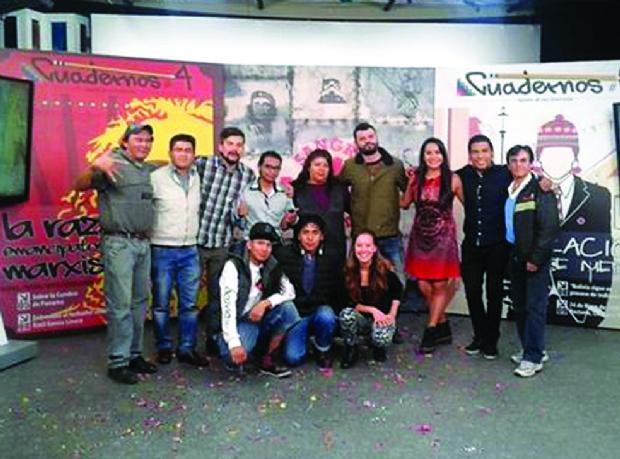 Los jóvenes del MAS, entre la militancia y los medios